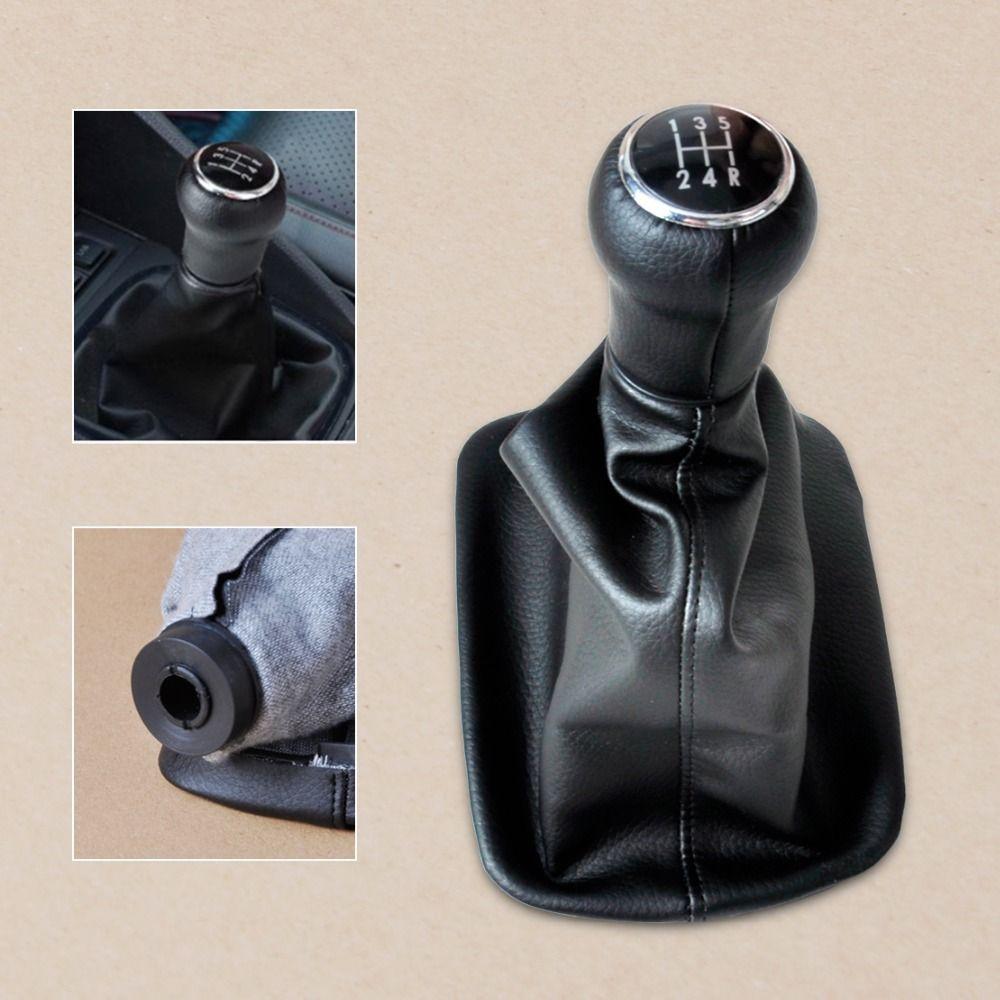 CITALL 4B0863279A New 5 Speed Gear Shift Knob Gaitor Boot For AUDI A6 C5 A4 B5 A8 D2 1996 1997 1998 1999 2000 2001 2002 2003