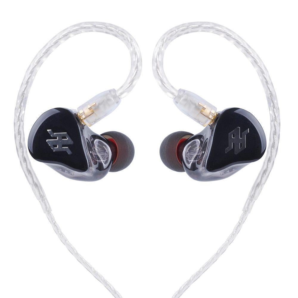 TENHZ P4 PRO In Ear Earphone 4BA Drive Unit 4 Balanced Armature HIFI In Ear Monitoring Earphones With Detachable MMCX Cable