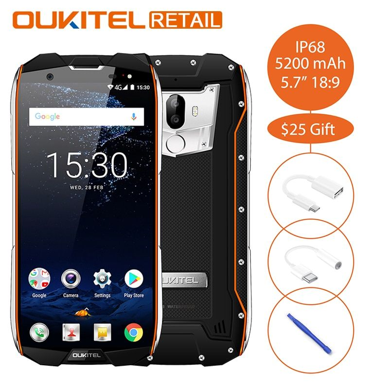 Oukitel WP5000 IP68 Waterproof 5.7