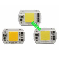 Светодиодный чип COB лампы 20 Вт 30 Вт 50 Вт 220 В 220 В вход умный IC драйвер подходит для DIY Светодиодный прожектор Прожектор холодный белый теплый б...