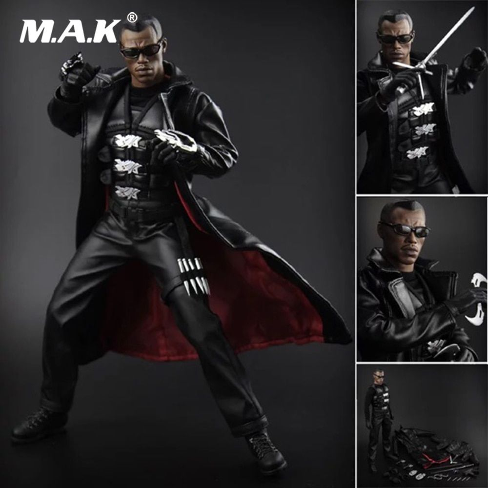 Collectible Full Set Solider Figure 1/6 Blade Warrior Vampire Hunter Hero Male Action Figure Full Set for Fans Holidagy Gift