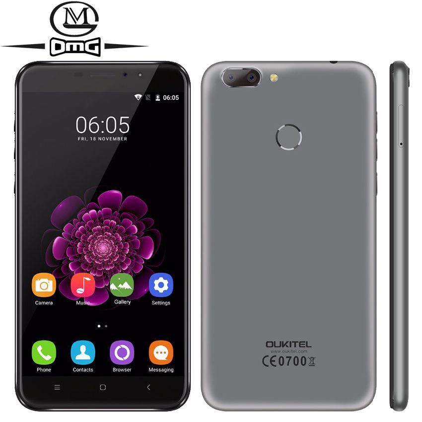 Oukitel U20 Plus MTK6737T Quad Core Android 6.0 Smartphone 4G LTE 5.5