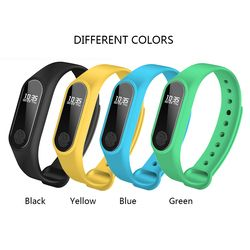 IP67 Smart Bracelet montre Smart watch OLED Écran Tactile BT 4.0 Bracelet Fitness Tracker Coeur Taux/Surveillance Du Sommeil Podomètre 2018