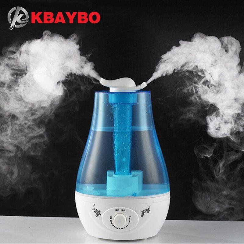 3L humidificateur d'air ultrasons arôme huiles essentielles diffuseurs huiles aromathérapie à la famille bureau purificateur d'air brumisateur
