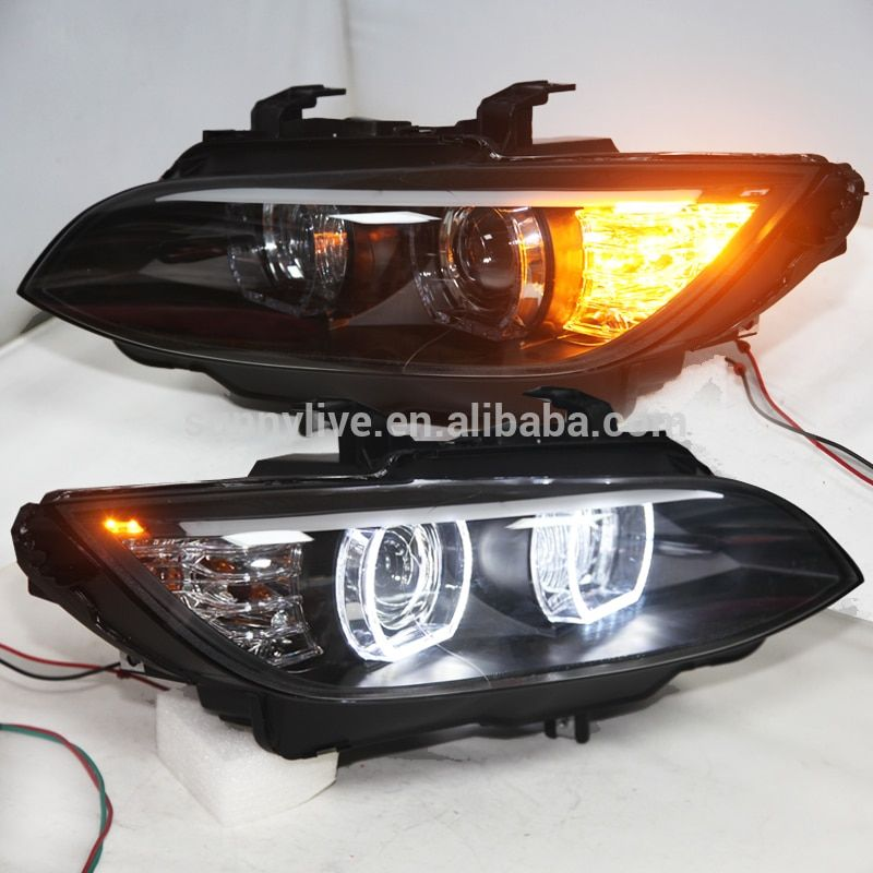 LED Headlights for M3 328i coupe 335i 330i E92 E93 head lamps Original car AFS 2006-20012Year