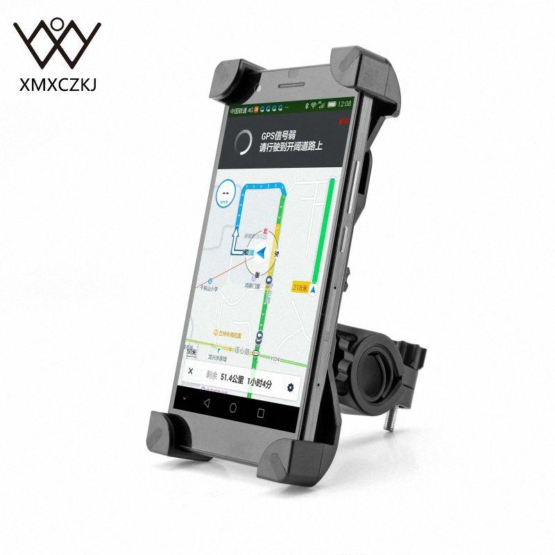 Anti-dérapant universel 360 rotatif vélo vélo support pour téléphone guidon Clip support de montage pour téléphone portable intelligent