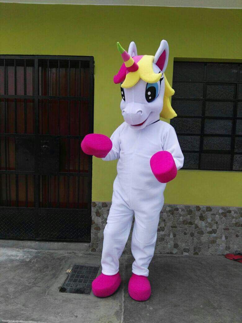 Pony Mascot costume Horse mascot costume Parade Quality Clowns Birthdays for Adult Animal Halloween party costumes