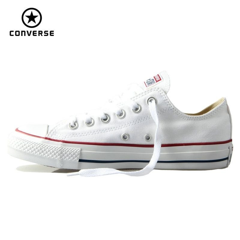Original Converse classic all star canvas shoes men and women sneakers low classic <font><b>Skateboarding</b></font> Shoes 4 color