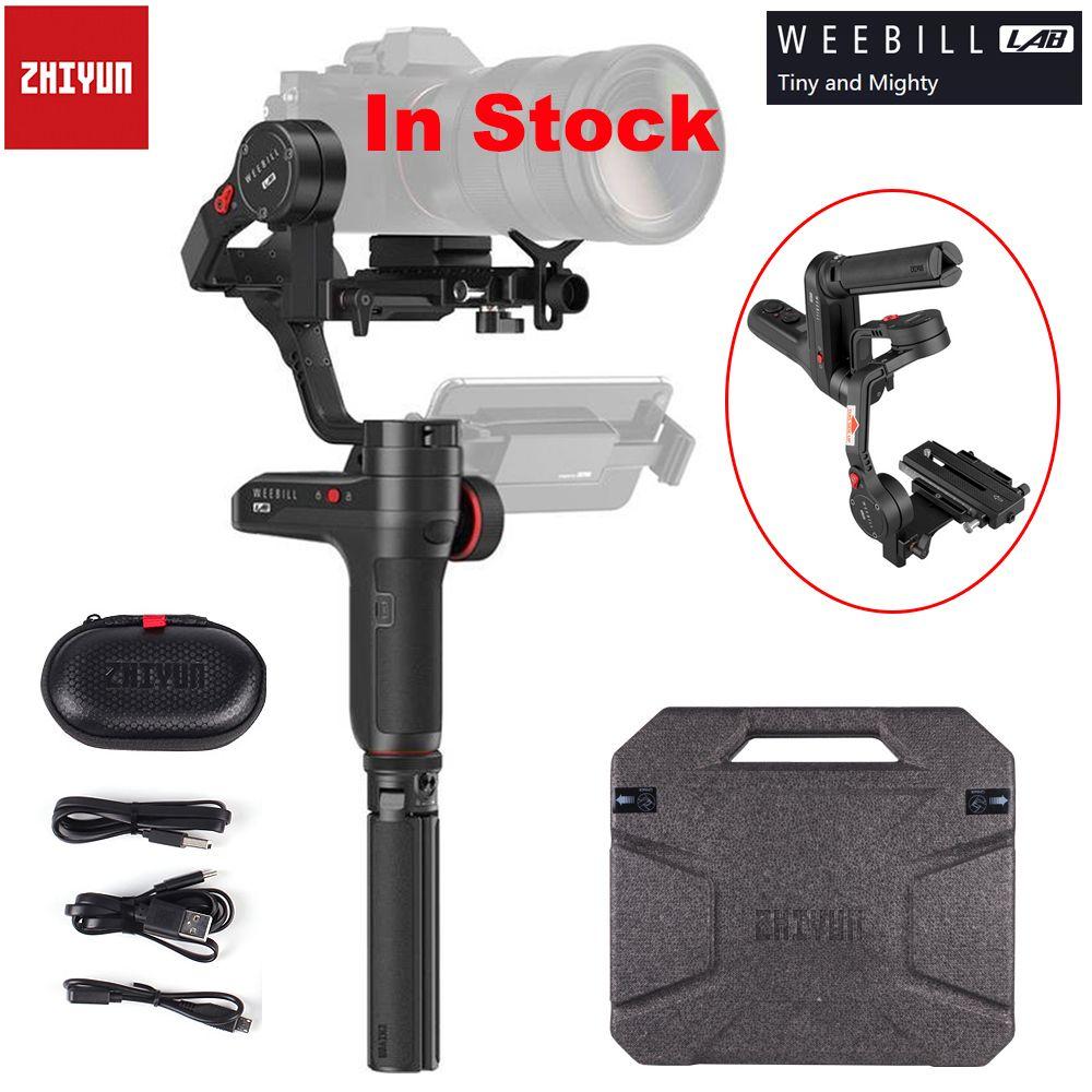 Zhiyun Weebill LABOR 3-Achse Drahtlose Bild Transm Kamera Stabilisator für Spiegellose Kamera OLED Display Handheld Gimbal Maxload 3 kg