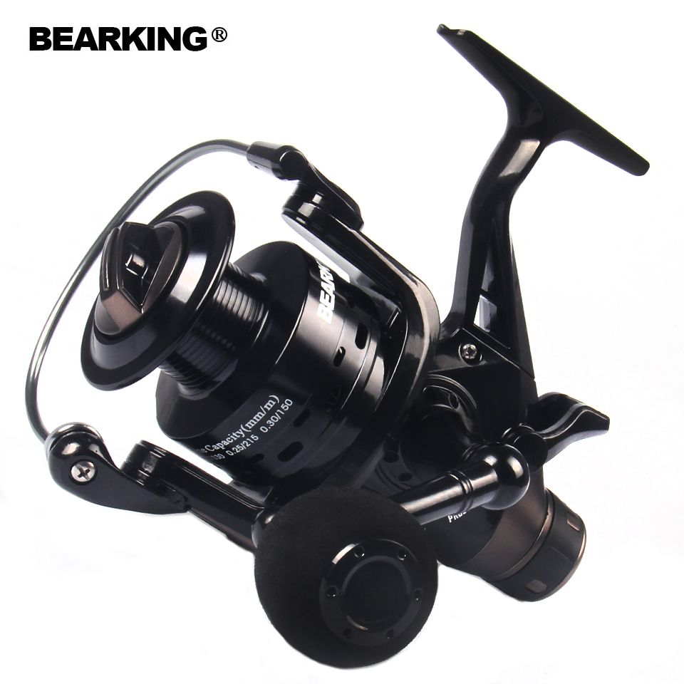 Bearking Fishing Reel Double Brake Carp Fishing Feeder 2017 Spinning Reel Quality Fishing Reel 3000 4000 5000 6000