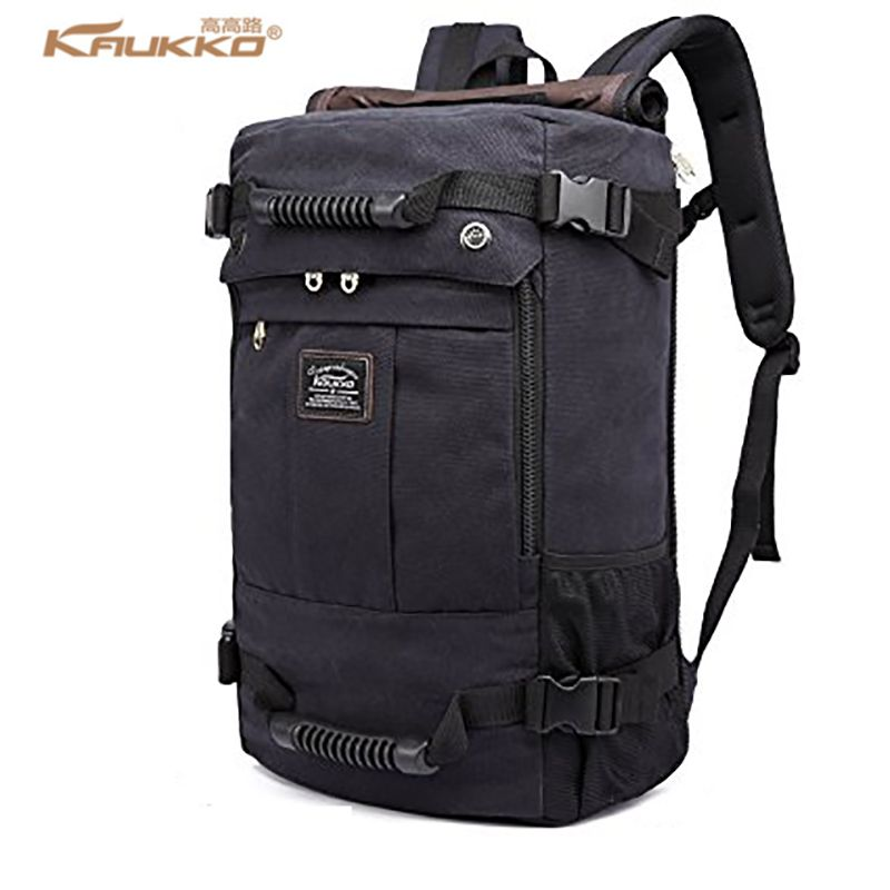 KAUKKO 2017 haute capacité ordinateur portable école grande capacité hommes sac à dos toile week-end sacs multifonctions sacs de voyage K1027