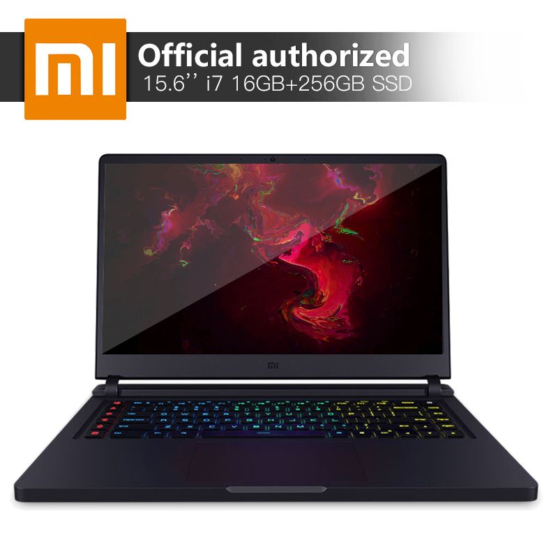 Xiaomi Gaming Notebook 15.6'' Intel Core i7 16GB DDR4 256GBSSD+1TB Laptop GTX1060 6GB GDDR5 Windows10 Backlit Keyboard Computer