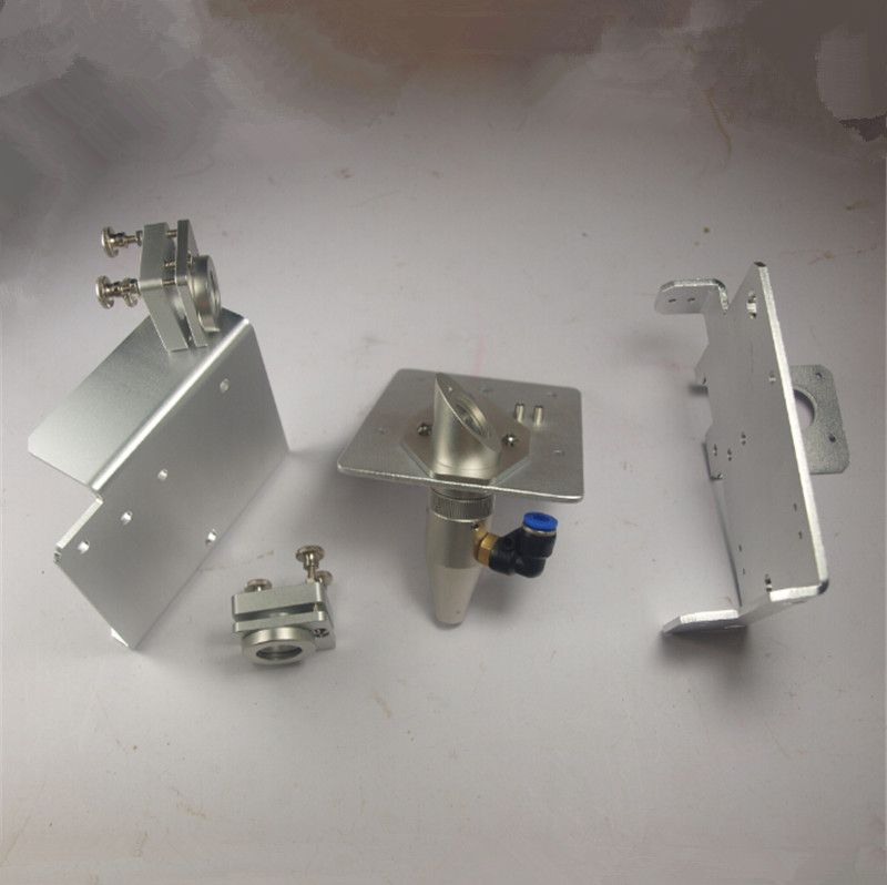 SWMAKER Buildlog 2X Laser aluminum alloy Gantry End Plates Laser Mirror Mount kit/set Laser Reflection Mirror Mount Lens carriag