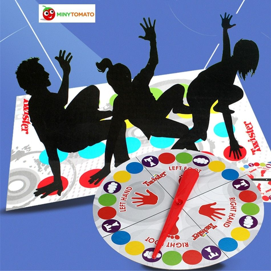 2018 Fun Outdoor Sports Toys Twister Moves Game Play Mat Twisting body Creative interactive educational toys Gift for kids