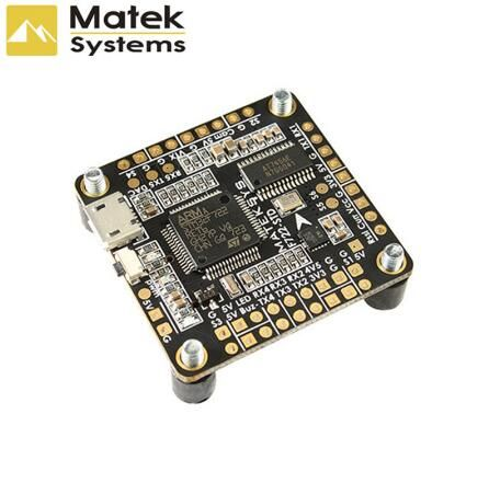 Matek Systems F722-STD F722 STD STM32F722 Flight Controller Built-in OSD BMP280 Barometer Blackbox for RC Models Multicopter