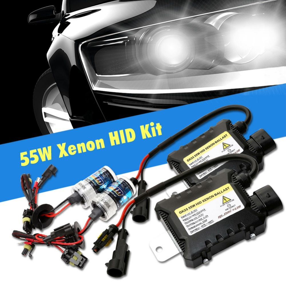 One Set H7 Xenon HID Kit H4 H1 H11 H8 9005 HB3 9006 HB4 881 D2S xenon hid ballast For Car Light Headlight 4300K 6000K 8000K 12V