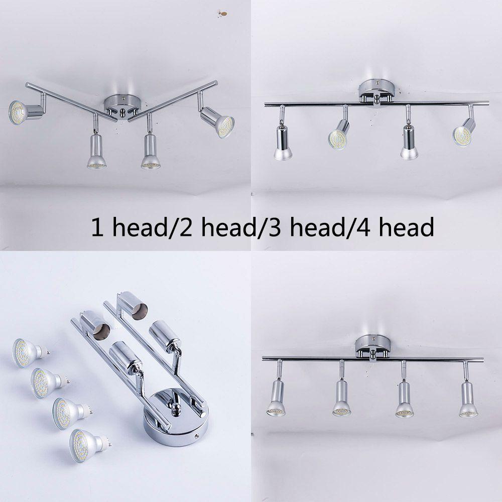 Angle réglable Spot plafond luminaire salon LED plafonnier chambre lit chevet éclairage intérieur