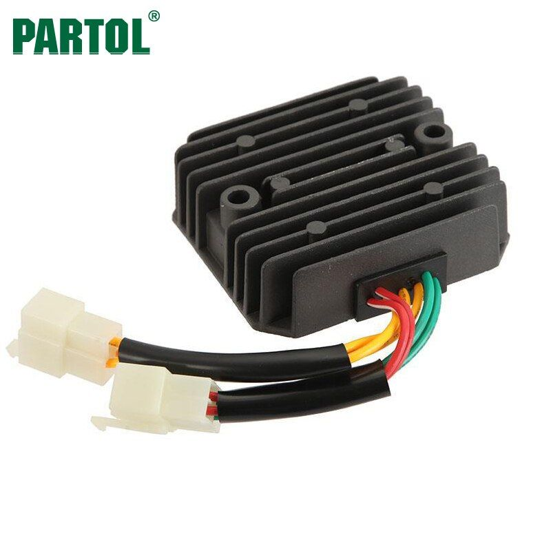 Partol Moto Voltage Regulator Rectifier for Honda VFR750F VTR250 INTERCEPTOR VT250F VT250 CBR600F NT650VFR400 VFR400Z VF750C 12V