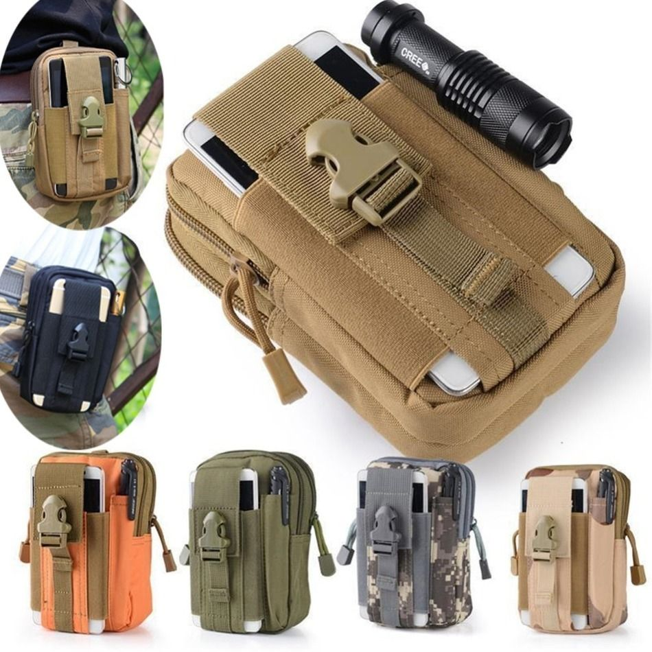 Universel Tactique Militaire Étui Ceinture Sac de Taille Pour Téléphone blackview bv5000 bv6000 bv7000 bv8000 pro Téléphone Sacs de Sport