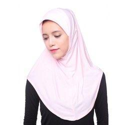 Muslim Women Inner Hijab Headscarf Cap Islamic Full Cover Hat Underscarf Headwear Shawl