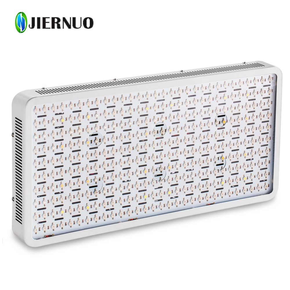 JIERNUO High Power 3000W LED Grow Light Full Spectrum LED grow lamp Double chips plant growth light for indoor plants growing