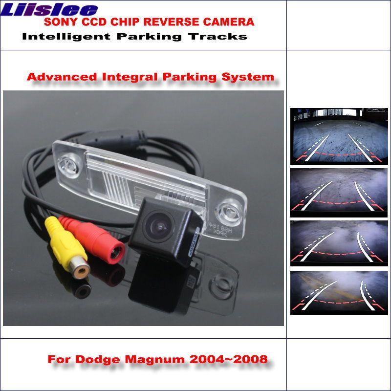 Liislee HD CCD SONY Rückfahrkamera Für Dodge Magnum 2004 ~ 2008 Intelligente parkplatz Tracks Rückunterstützungs/NTSC RCA AUX 580 TV Linien