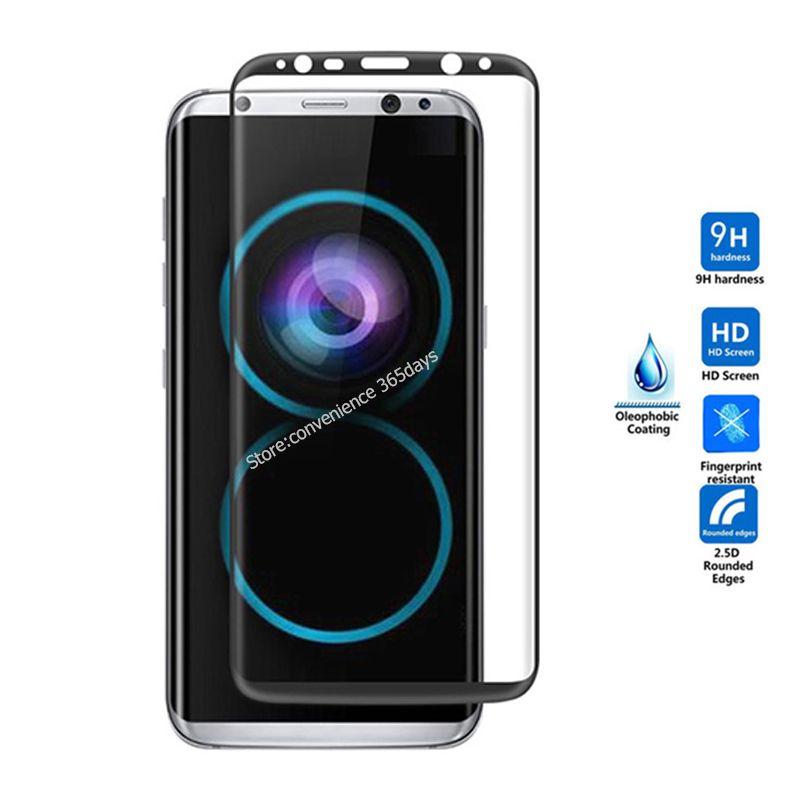 Für Samsung Galaxy S8 Gehärtetem Glas Displayschutz Hafenpersenning 3D alle Klecker Sicherheitsglas auf S 8 G950F G950 G 950F