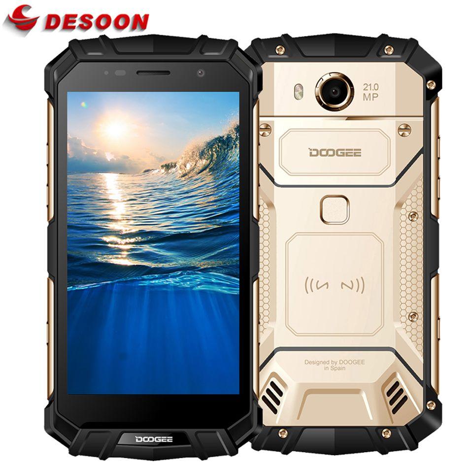 Doogee S60 IP68 Wasserdichte Handy 5580 mAh 12 V/2A Drahtlose Lade 5,2