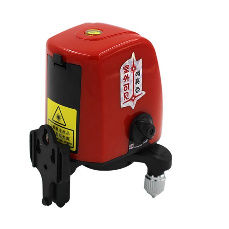 ACUANGLE A8826D 360 degree self-leveling Portable mini Cross Red Laser Levels Meter 2 line 1 point 635nm Leveling Instrument