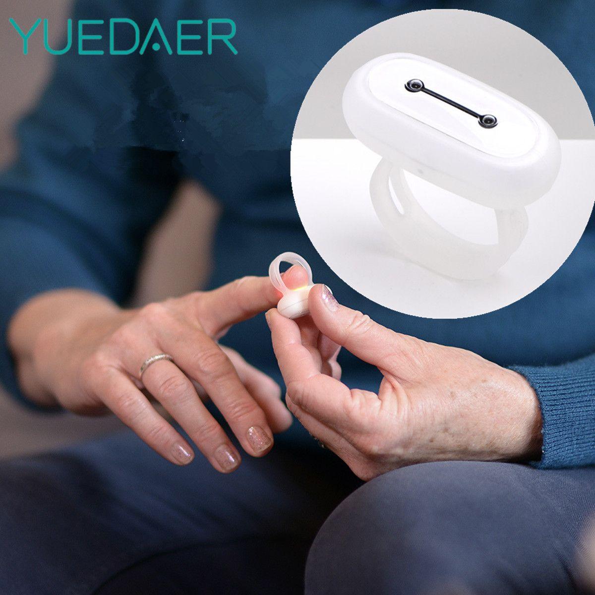 YUEDAER GO2SLEEP Smart Sleep Tracker Ring Pulse Oximeter Blood Oxygen Smart Sleep Monitoring Ring SPO2 Heart Rate Monitor Device