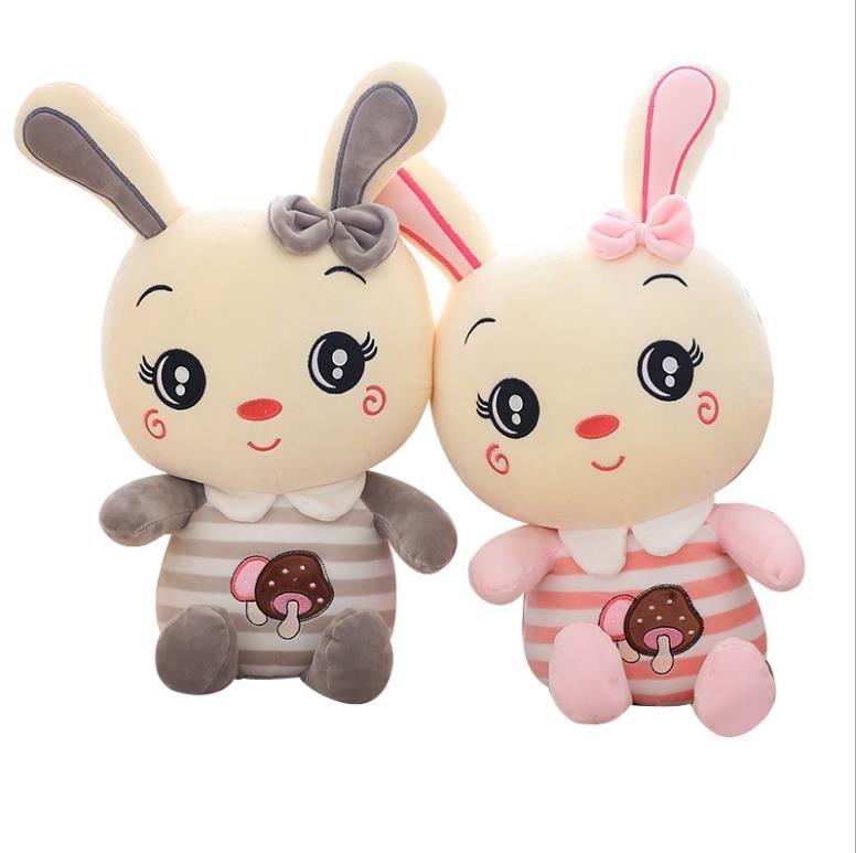 Seta linda muñeca conejo conejo muñecas juguetes de peluche muñeca de trapo F200