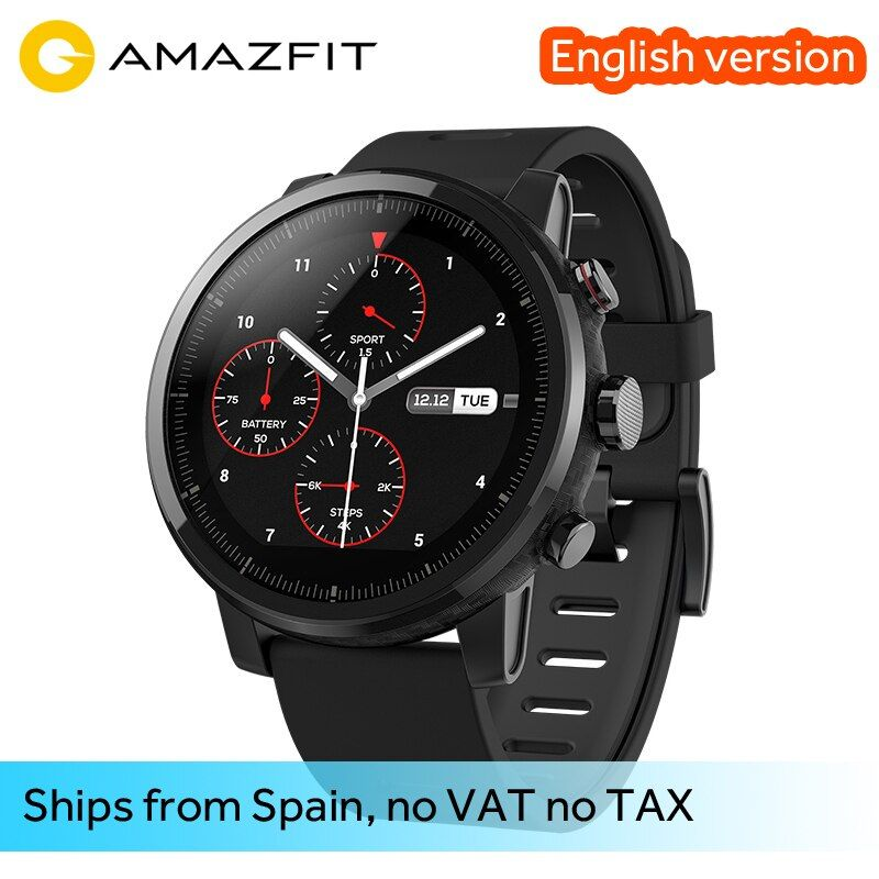 Original Xiaomi Huami Smart Watch Amazfit Stratos 2 Amazfit 2 Bluetooth GPS PPG Heart Monior 11 Kinds of Sport Mode Waterproof