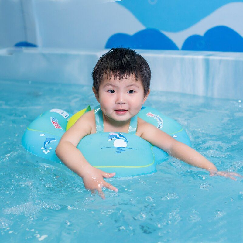 Baby Swimming Ring Inflatable Infant Armpit Floating <font><b>Kids</b></font> Swim Pool Accessories Circle Bathing Inflatable Double Raft Rings Toy