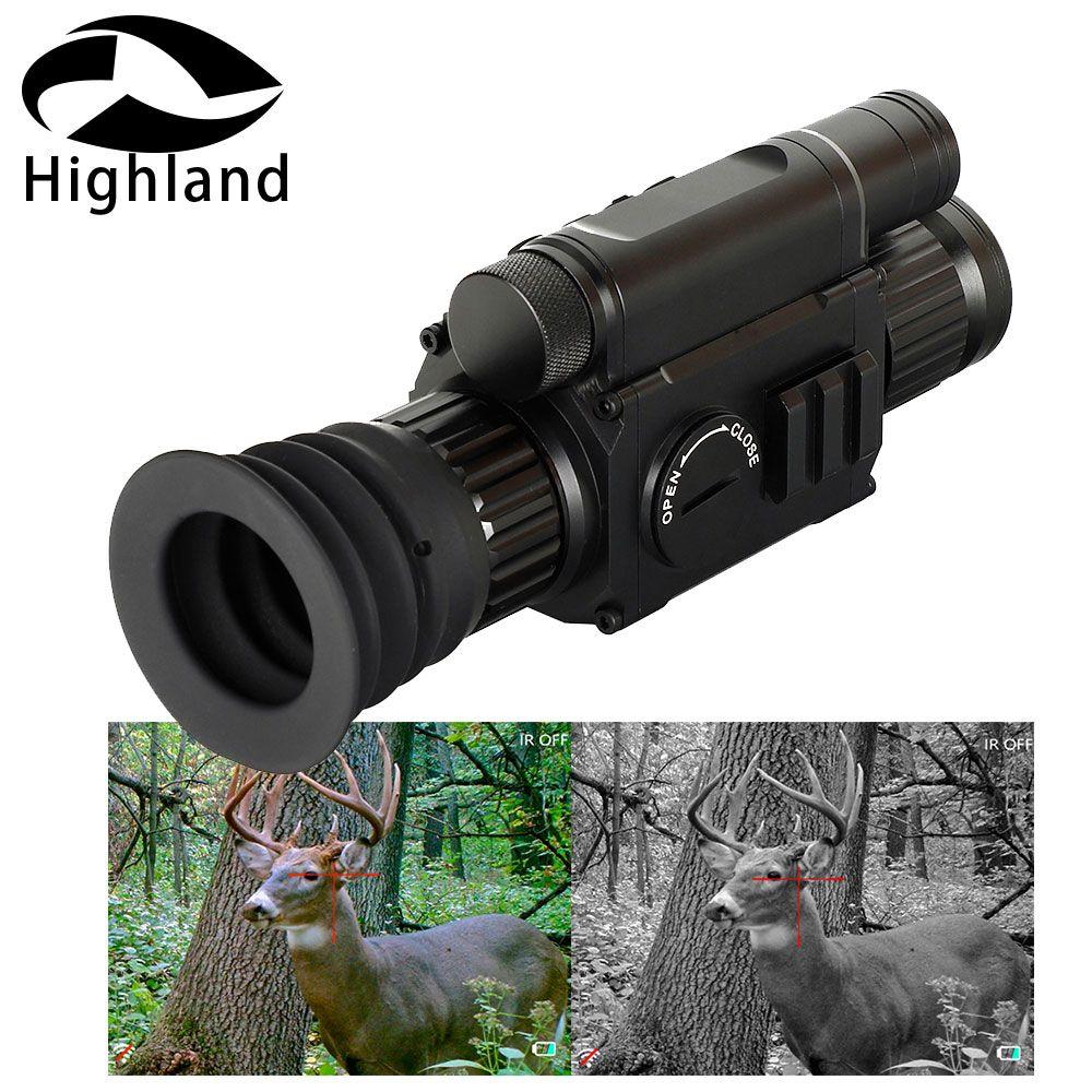 Jagd Zielfernrohr Tag und Nacht PARD NV008 Digital Night Vision Umfang IR Monokulare Kamera mit Laser Pointer für Outdoor