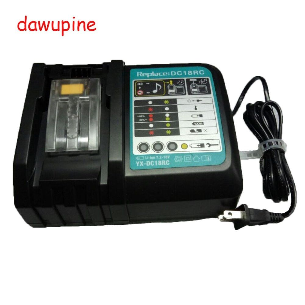 DC18RCT Electrical Drill Parts Li-ion Battery Charger for Makita 18V 14.4V Lithuim ion battery BL1830 Bl1430 Fitting Accessory