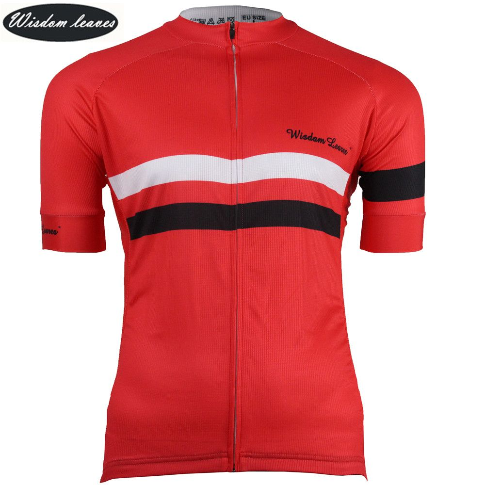 Weisheit Blätter Designer Marke 2018 Men sky radfahren t-shirt bike shirt Frauen maillot ciclismo equipos Team kleidung fahrrad jersey