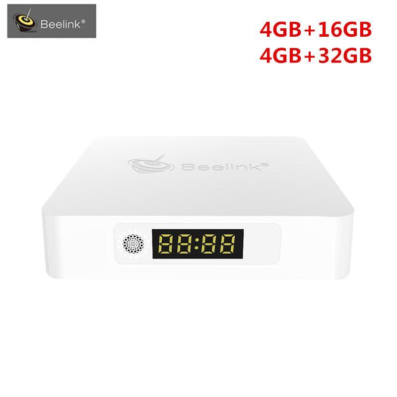 Beelink A1 Smart TV Box Andrio7.1 RK3328 Quad-Core ARM Cortex-A53 Set Top Box 4G 16G/32G 2.4G+5.8G WIFI 1000M Bluetooth TV Box