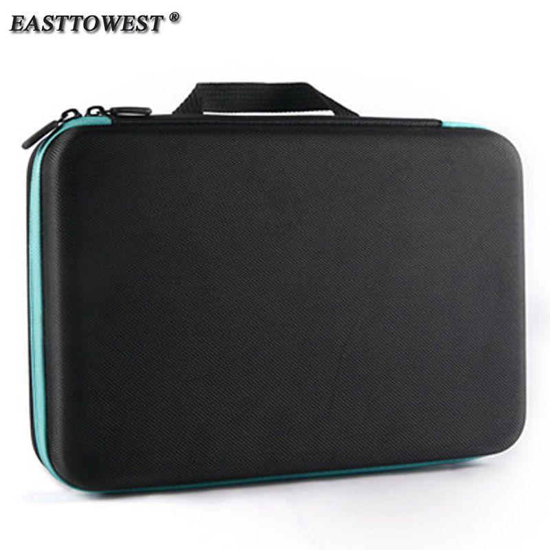 Easttowest Para Accesorios Gopro Bolsa de Almacenamiento Estuche de Protección para Xiaomi Yi Go pro Hero 5 4 Sj4000 Sjcam Acción cámara
