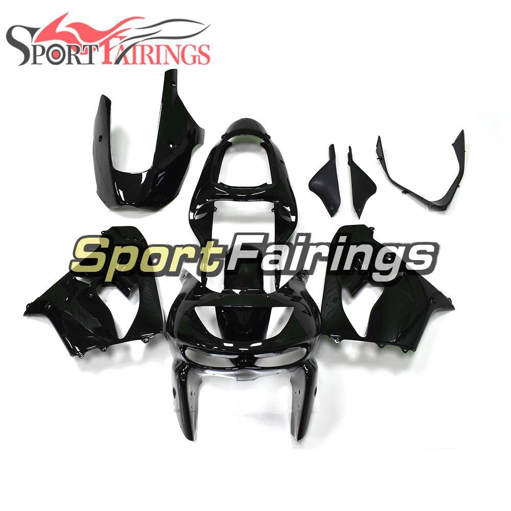 Fairings For Kawasaki ZX-9R ZX9R Year 98 99 1998 1999 ABS Motorcycle Full Fairing Kit Motorbike Bodywork Cowling Shinny Black