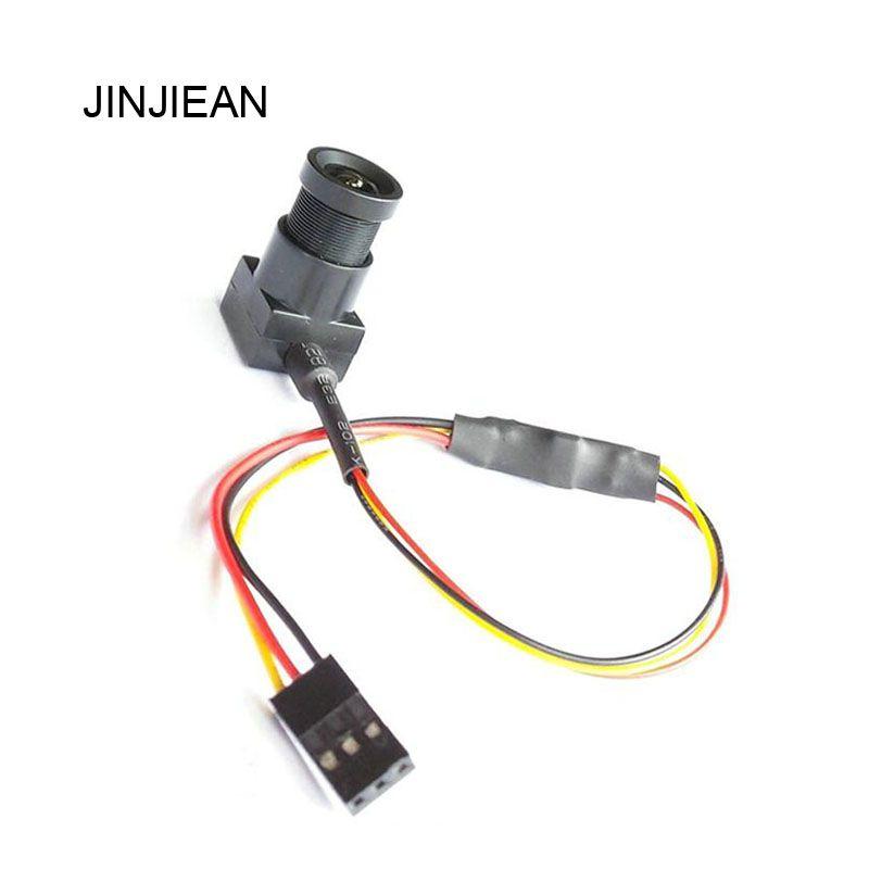 JINJIEAN Super Mini Wide Angle 700TVL 3.6mm NTSC Format FPV Camera for RC QAV250 FPV Aerial Photography