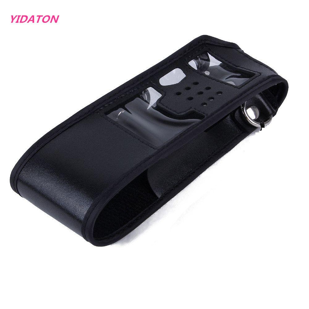 YIDATON Erweiterte Leather Soft Case Holster für Baofeng UV-5R Zwei Way Radio FM TYT TH-UVF9 TH-F8 TH-UVF9D Walkie Talkie UV 5R