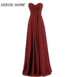 Free shipping Royal Blue Chiffon Long Bridesmaid Dresses 2017 New Fashion Wedding Party Dresses robe Formal dress