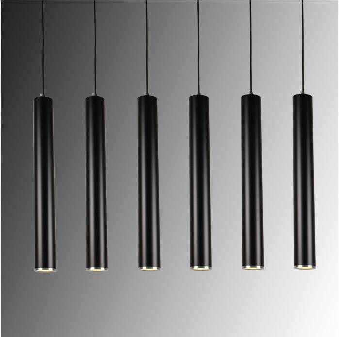 Creative Art Décor LED Pendentif Lampe Bar Cylindre Tuyau Pendentif Lumière Pour Bar Cuisine Île Salle Salon Boutique Décoration
