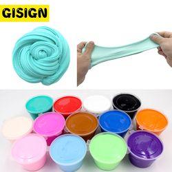 DIY Slime Kotak Perlengkapan Tanah Liat Lembut Floam Scented Stress Relief Kapas Rilis Clay Plasticine Mainan untuk Anak