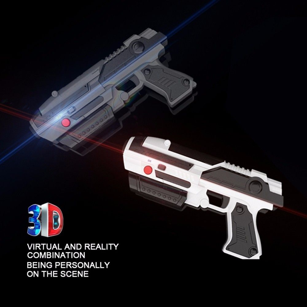 FQ777 YT-101 VR Game AR GUN Shooting Game Smartphones Bluetooth Control Toy for IOS Android outdoor fun sports airsoft air guns