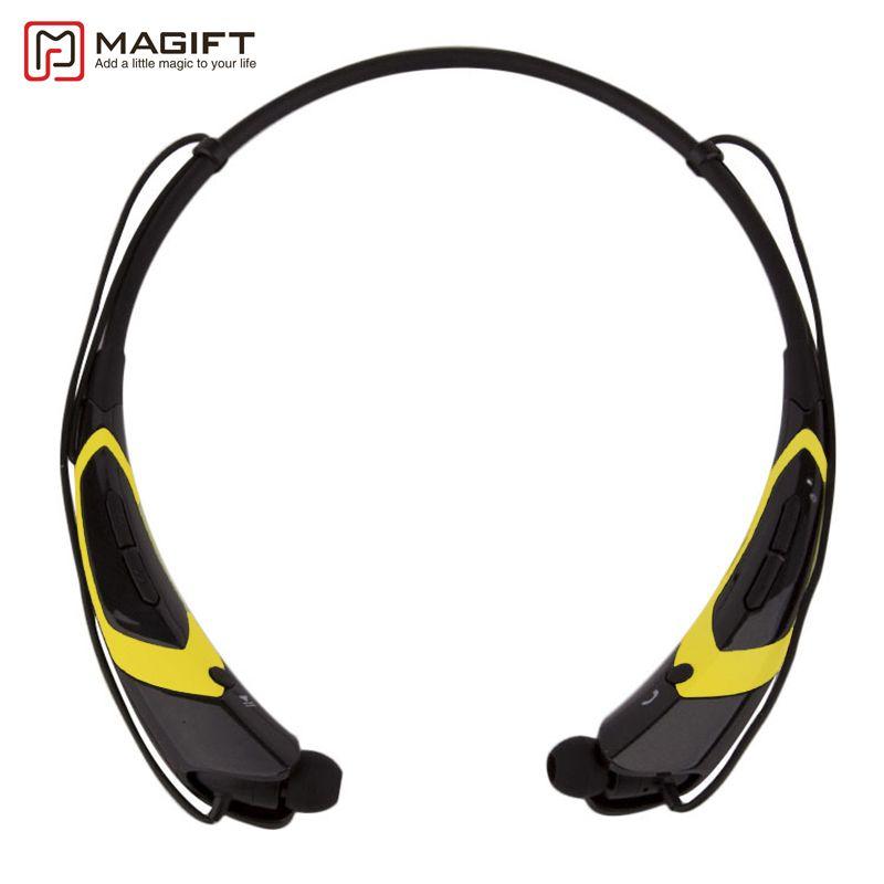 Magift HBS760 Casque Sans Fil Bluetooth V4.0 Casque In-Ear Casque Stéréo avec Micro Écouteur pour iPhone7 Xiaomi téléphone