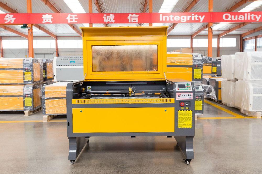 VOIERN WR6090 900*600mm 60 W M2 co2 laser gravur machine220v/110 v laser cutter engarver diy CNC gravur maschine