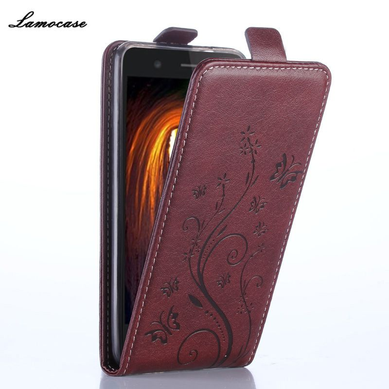 Leather Case For Alcatel One Touch Pixi 3 4.5