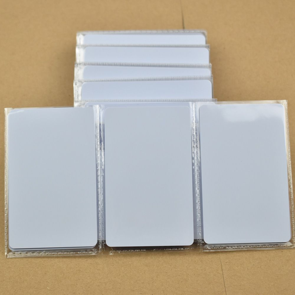 50 шт. ISO14443A Карты RFID NFC Смарт-Тегов 1 К NTAG215 Чип Белая Карта для Всех NFC устройств