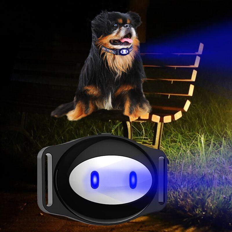 Mini Pet GPS Tracker Étanche Smart GPS Tracker Avec Collier Pour Animaux de Compagnie Chat Chien GPS + LBS Emplacement Livraison APP LED Indicateur